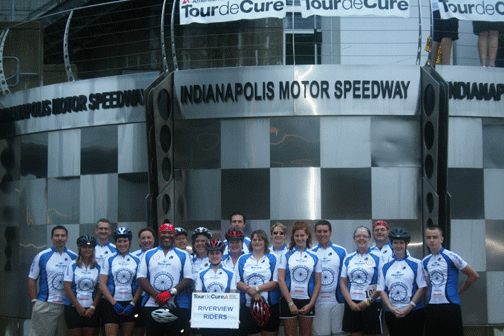 Biking for a cure