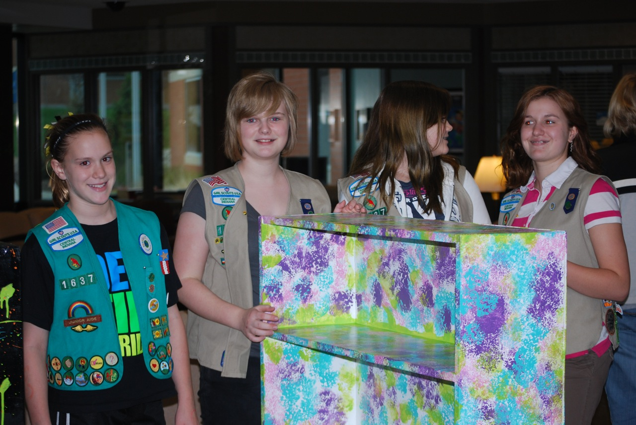 A big shout out to some fantastic Girl Scouts!